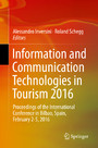 Information and Communication Technologies in Tourism 2016 - Proceedings of the International Conference in Bilbao, Spain, February 2-5, 2016