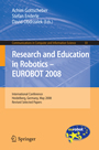Research and Education in Robotics: EUROBOT 2008 - International Conference, Heidelberg, Germany, May 22-24, 2008. Revised Selected Papers