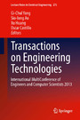 Transactions on Engineering Technologies - International MultiConference of Engineers and Computer Scientists 2013