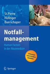 Notfallmanagement - Human Factors in der Akutmedizin