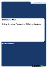 Using Security Patterns in Web-Application